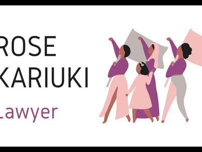 Rose Kariuki- Women in Law
