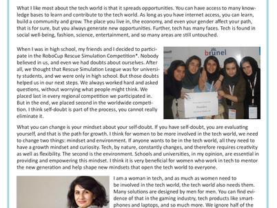 Shadi Hariri- Women in STEM
