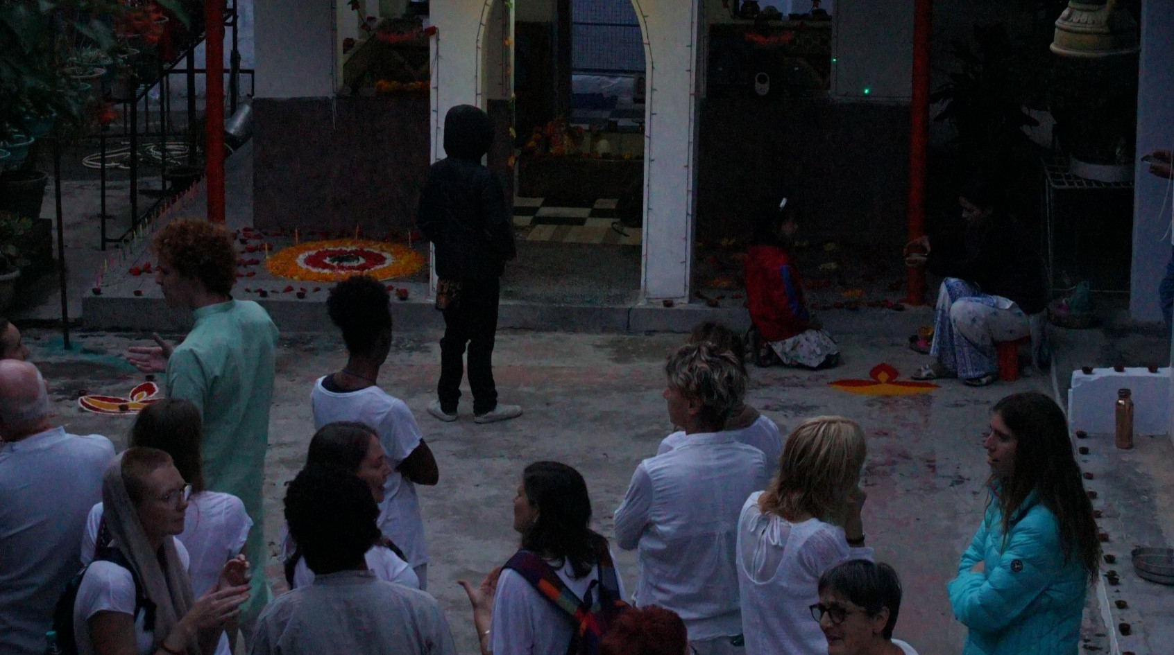 Temple at Phool Chatti Ashram