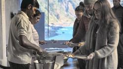 Breakfast with Ganga view