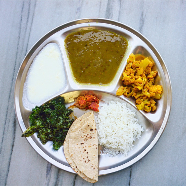 Lunch at Phool Chatti Ashram