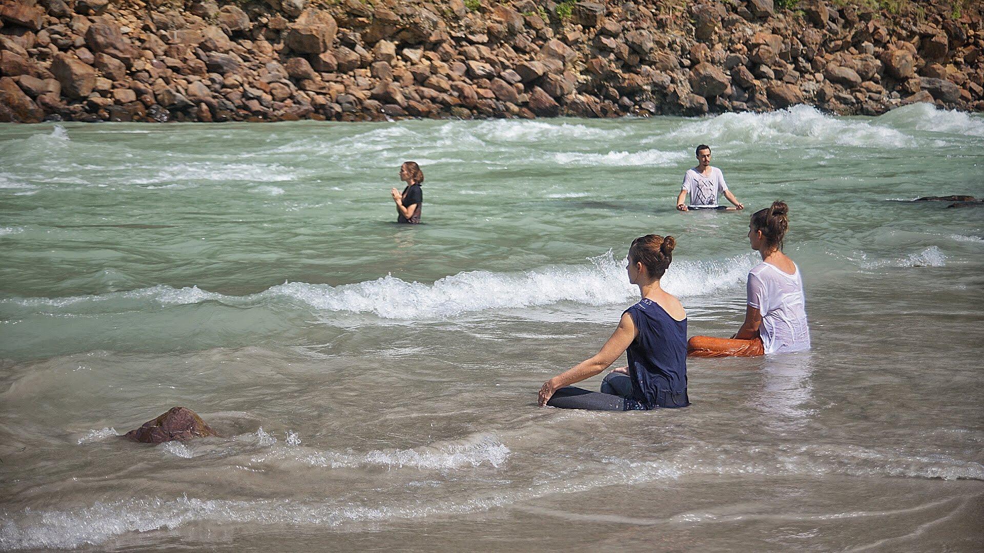 Ganga meditation