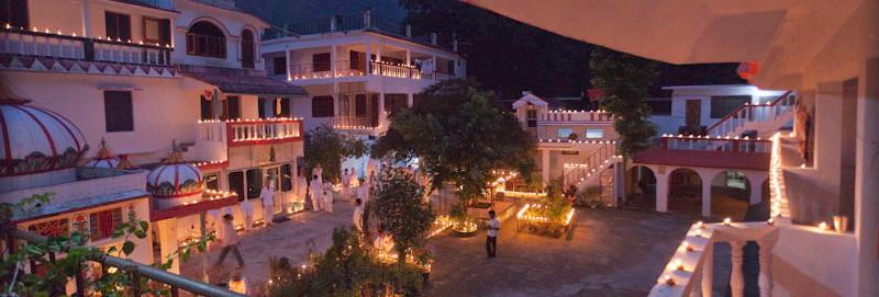 Phool Chatti Ashram in Rishikesh, Himalayas, North India