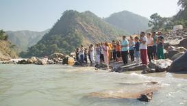 Ganga Bathing