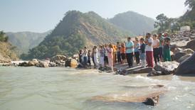 The Ganga Ceremony