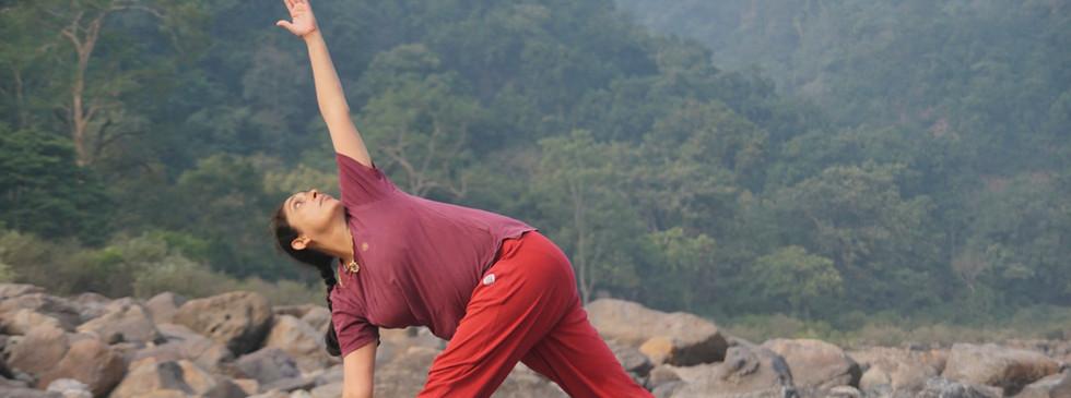 Yoga Asana Practice with Lalita-ji