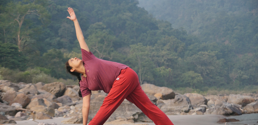Yoga Asana Practice with Lalita-ji