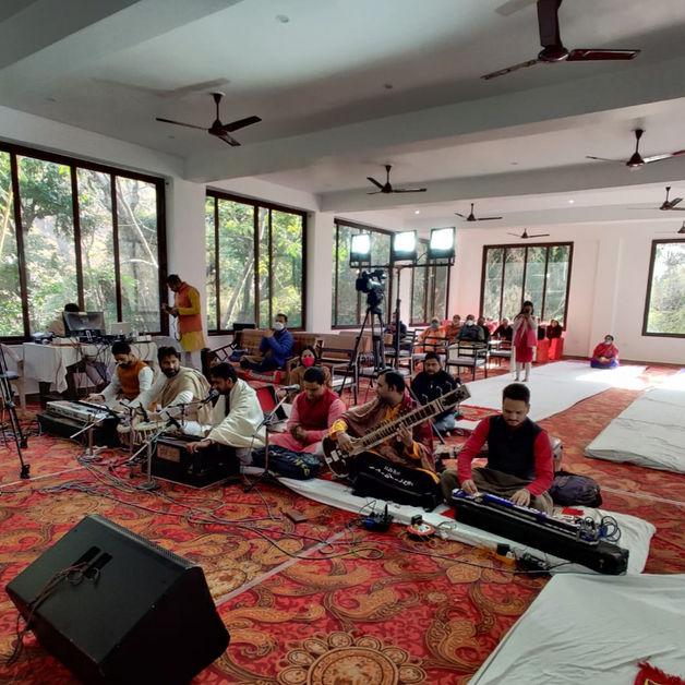 Inaugural Ceremony at The Phool Chatti Yoga Ashram