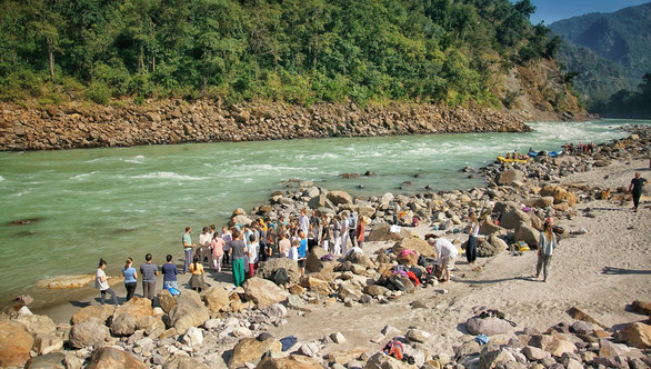 The Students by the Ganga