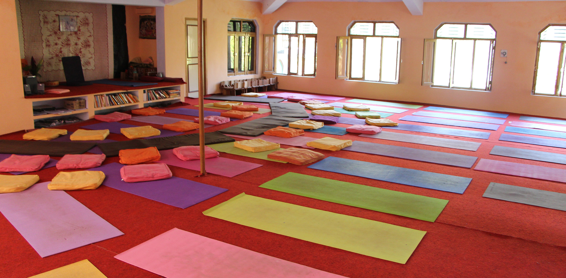 Yoga Hall at Phool Chatti Ashram