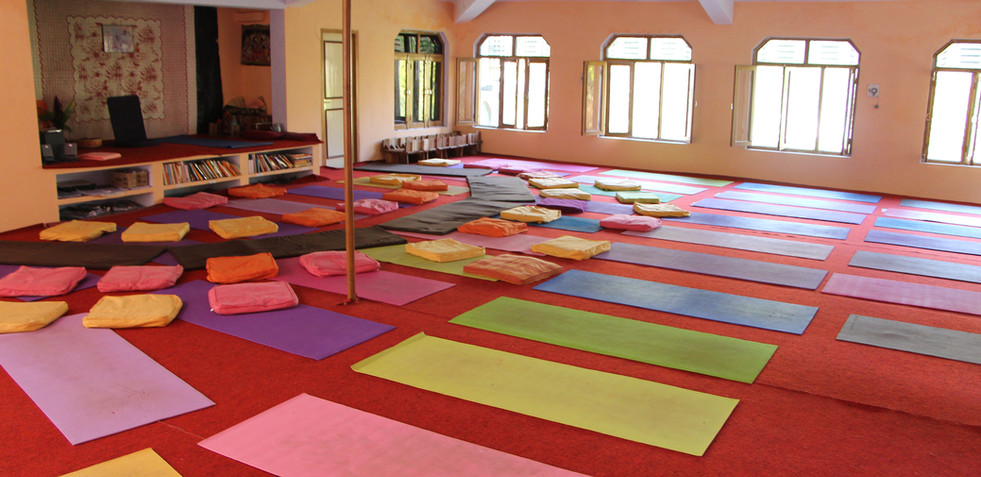 Yoga Hall at Phool Chatti Ashram