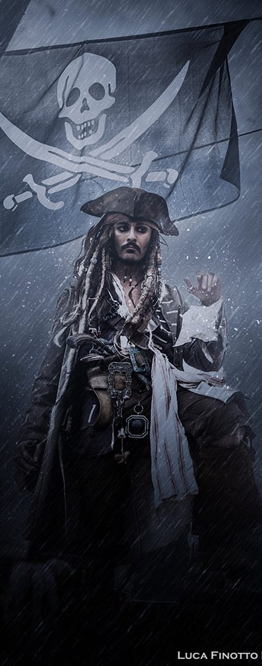Louis Guglielmero Jack Sparrow Impersonator