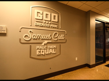 Samuel Colt Wall Quote