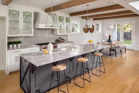 Custom Granite Kitchen