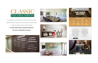 Classic Industrial Services Branding