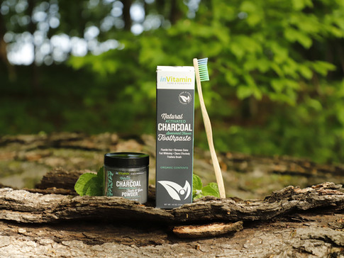 inVitamin Charcoal Toothpaste