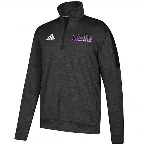 BLACK ADIDAS FLEECE QUARTER ZIP