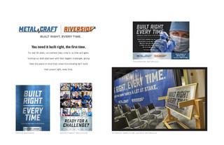 Metal Craft Riverside Branding