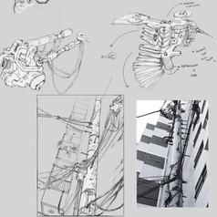 Ilustração digital criada por estudante do curso de Fundamentos da Arte da Skilltree, do professor Pedro Dutra