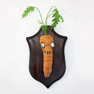 Carrot Taxidermy