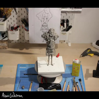 Maquette sculpting