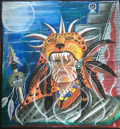 The Jaguar Warrior by Gustavo Tafolla