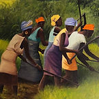Women Sowing I, Acrylic on Canvas.HEIC
