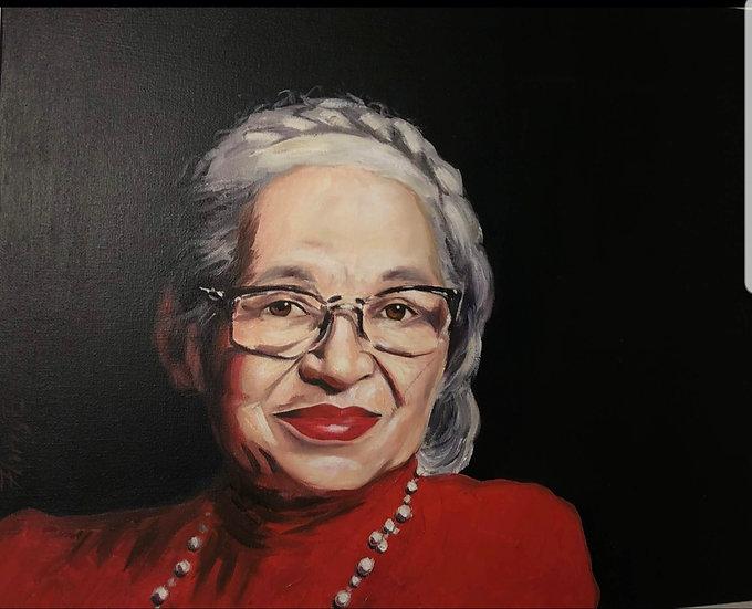 Rosa Parks by Harry Ellis