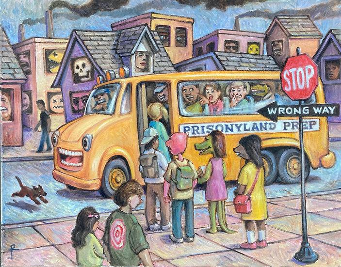 Prison Bus by David Potwin