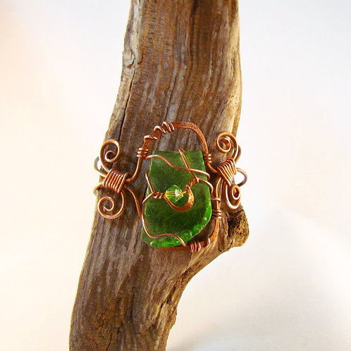 Green Lake Glass Cuff
