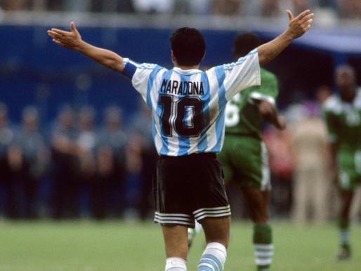 Maradona e a sina da América do Sul