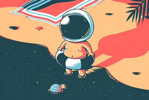 natação Astronaut