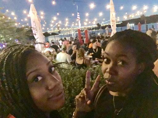 Yaa + Danielle @ La Marina