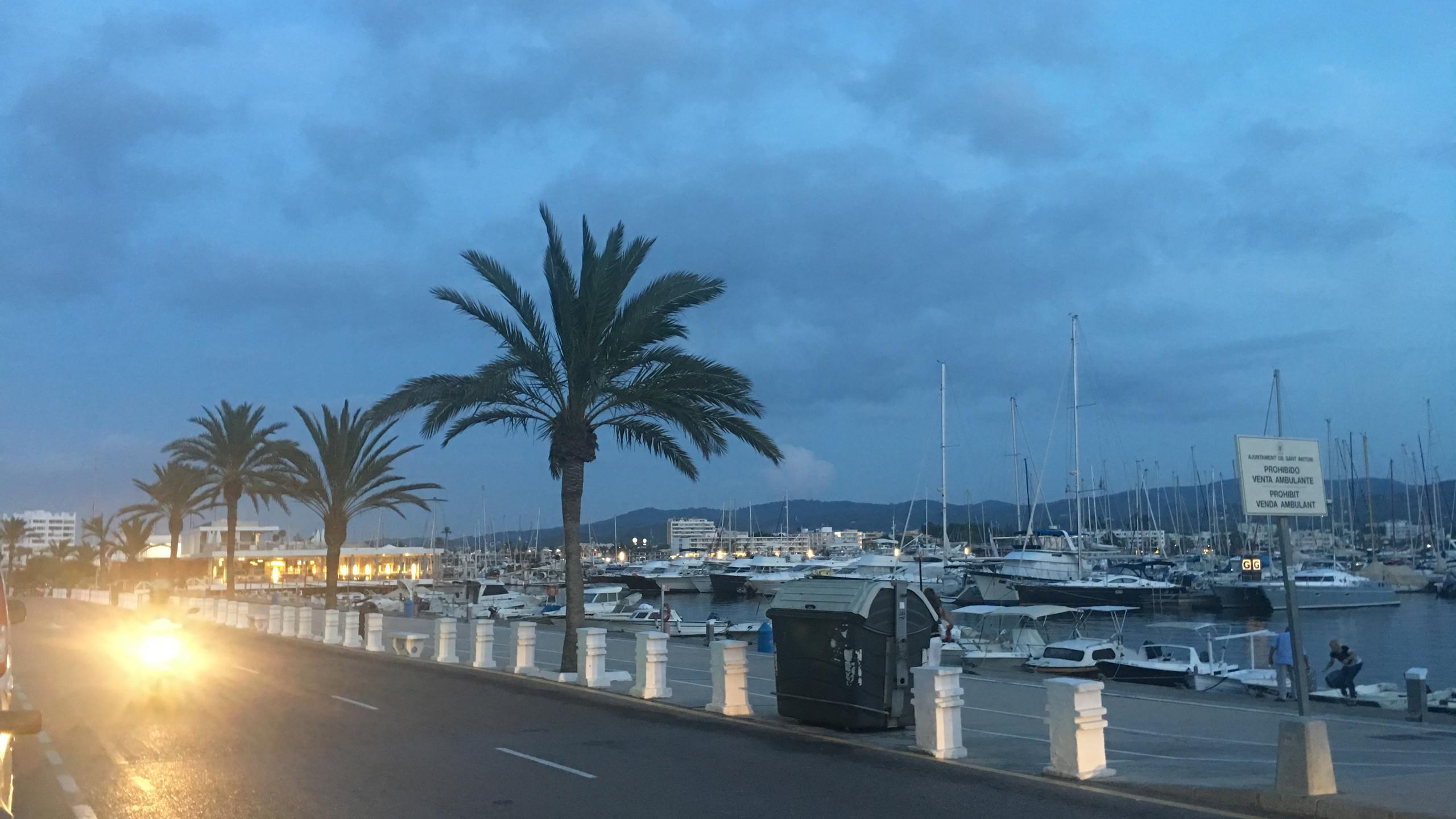 Evening view (Ibiza)