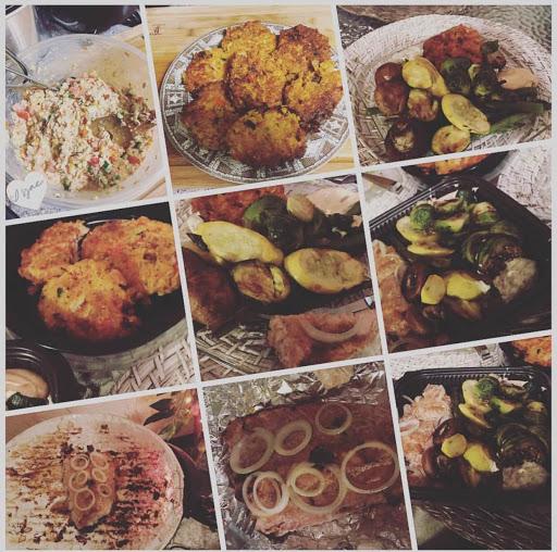 Healthy feast w/ Yaa's Mother!