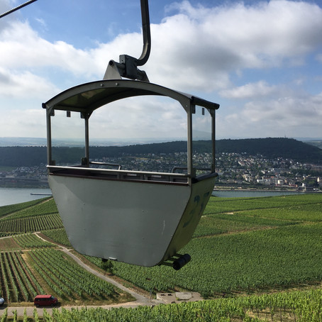 Hitchhiking and Fireworks: Welcome to Rudesheim, Germany - Ever heard of it?!