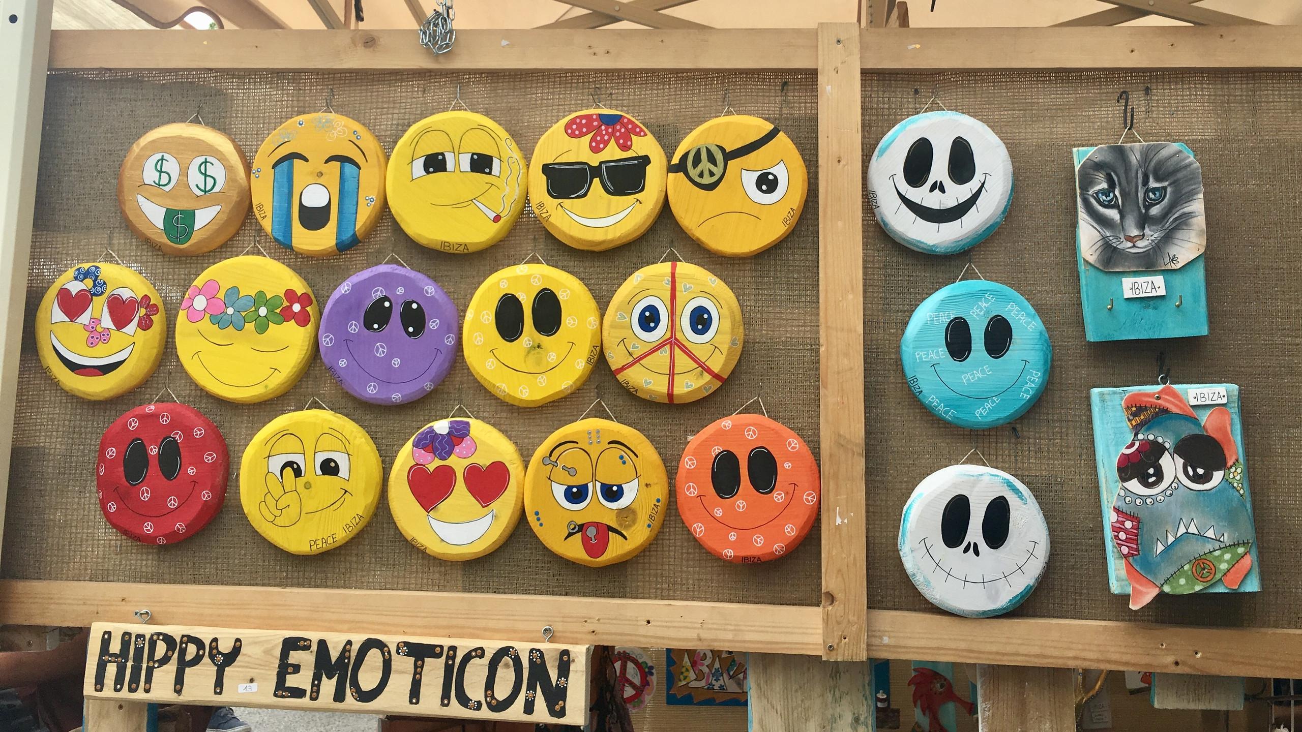 Hippy Emoticon - Hippy Market