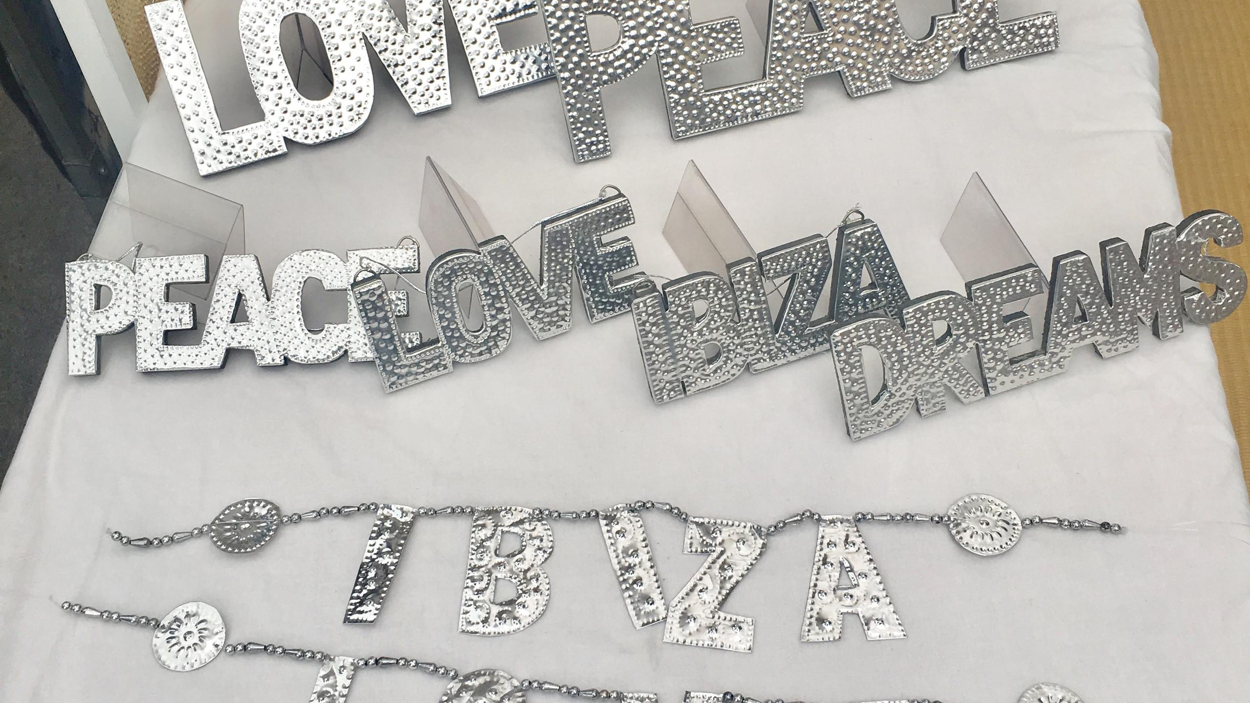 Love. Peace. Ibiza. Dreams.