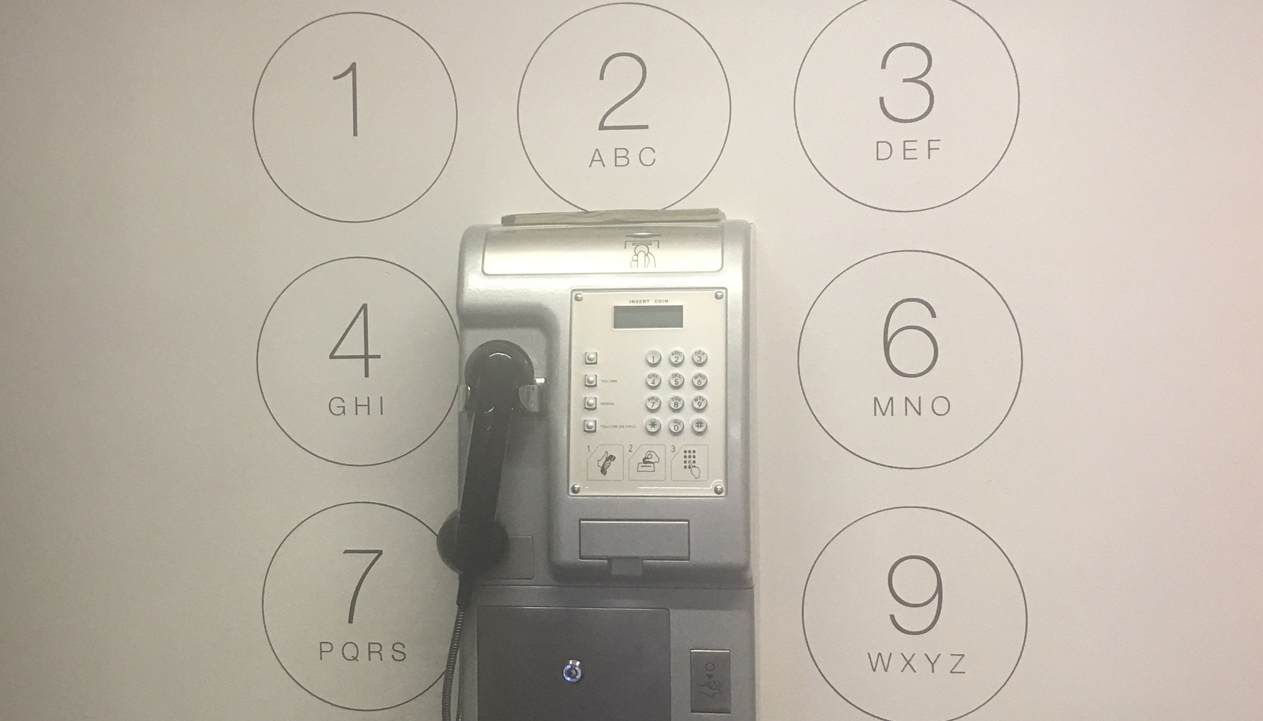 Hostel Wall Phone