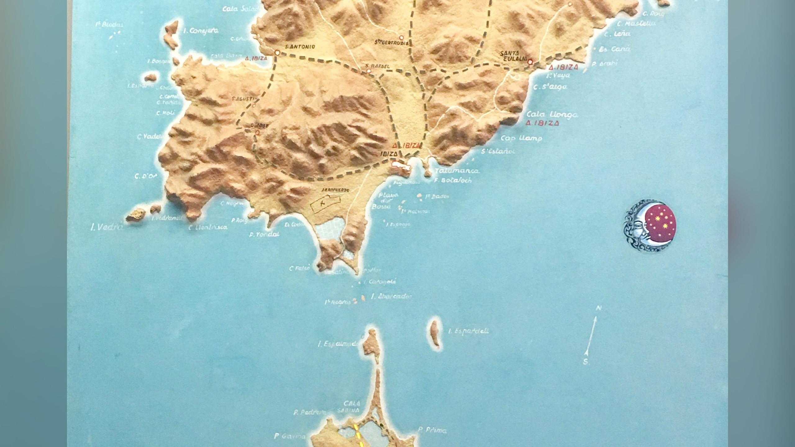 Map Ibiza x Formentera