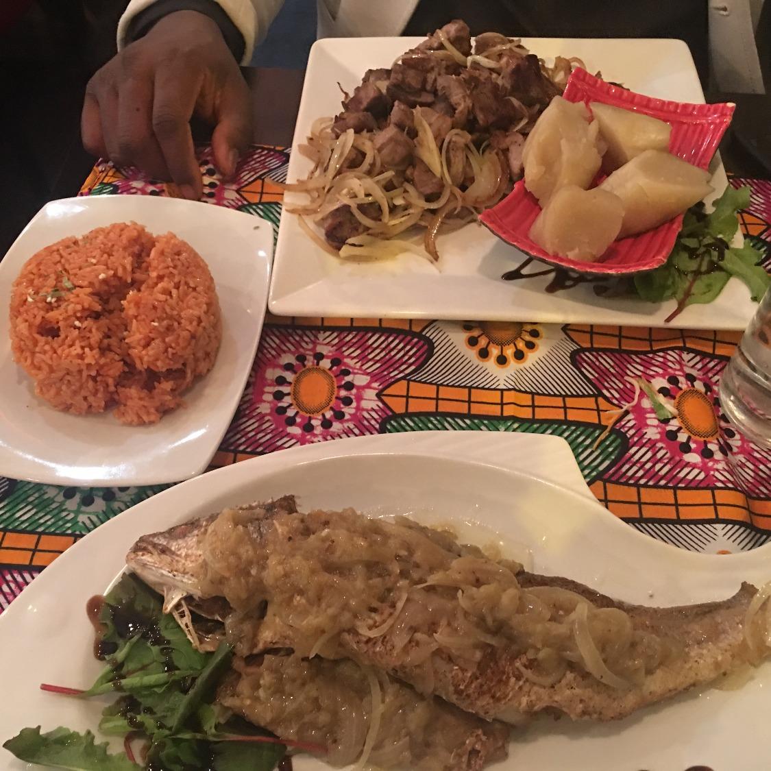 Excellent African Food