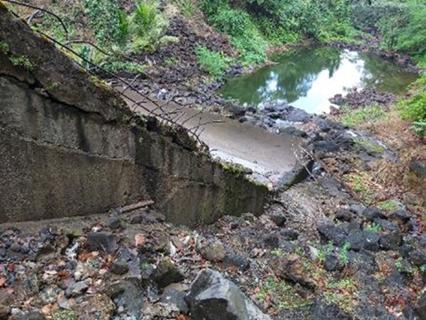 Assessment of the John Compton Dam Spillway Walls