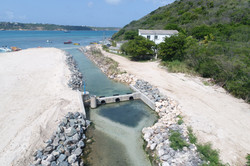 Sandy Ground Pond Flood Control and Warn