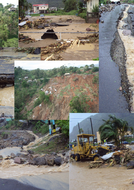 Hurricane Tomas Emergency Recovery, Damage Assessment and Preliminary Engineering Designs