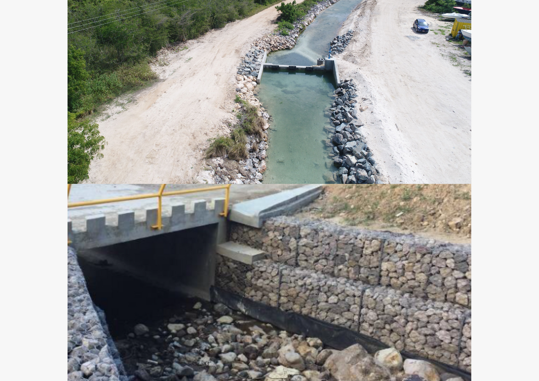 Technical Assistance for Flood Mitigation & Slope Stabilisation Interventions in Anguilla (Sandy Ground Pond) & Montserrat (Collins & Caines Rivers)