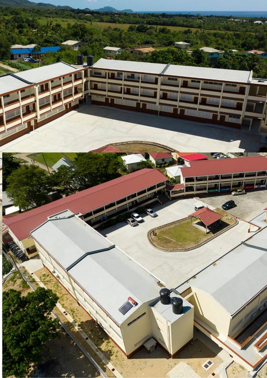 Expansion of Choiseul Secondary School-New Blocks