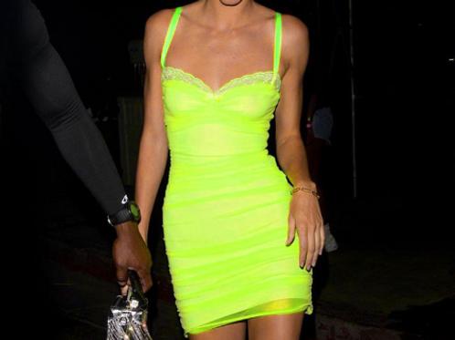 Mini tight dress