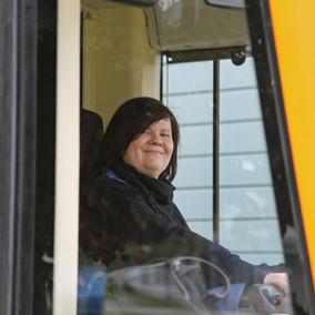 Spurwechsel - aus dem Leben einer OEG-Fahrerin