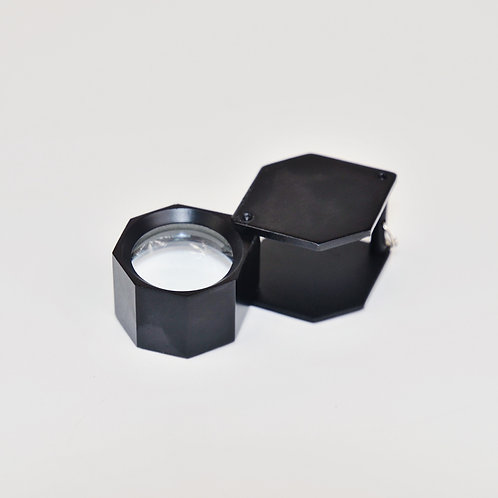 18mm Jeweler's Loupe, Hex Shape