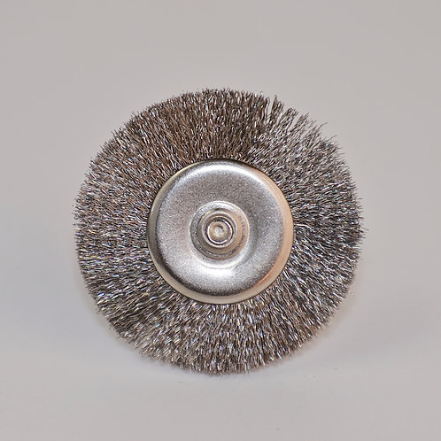 """1 1/4"""" Stainless Steel Flat Wire Brush"""